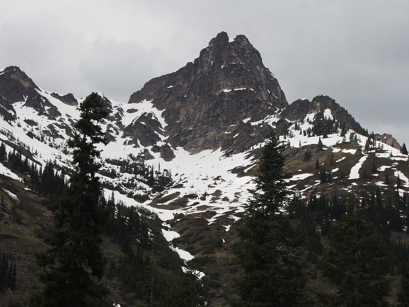 Liberty Bell Mountain: OLYMPUS DIGITAL CAMERA