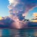 Thunderstorm Over Cozumel by Michael S. Kammerer