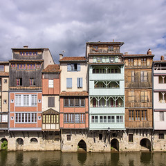 Castres - Quai des Jacobins sur l'Agout - Photo of Laboulbène