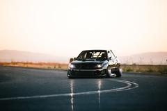 Stanced Subaru STi