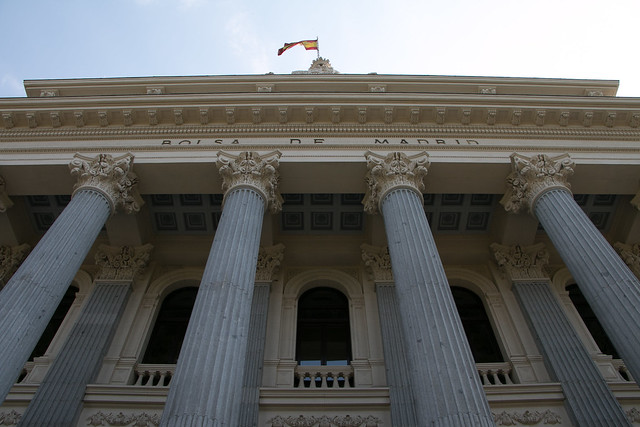 Bolsa de Madrid - Fachada