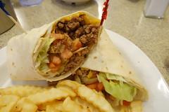 Cheeseburger Wrap at Country Pride 7-16