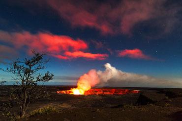 キラウエア活火山