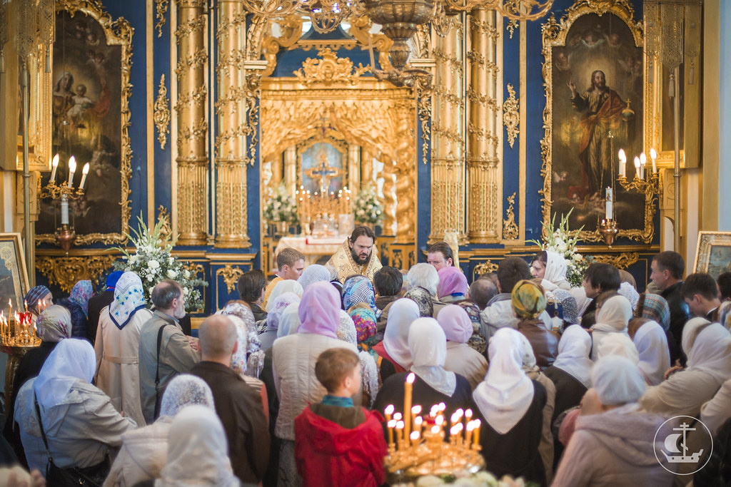22 мая 2015, Литургия в Николо-Богоявленском морском соборе / 22 May 2015, Divine Liturgy in the St. Nicholas Naval Cathedral