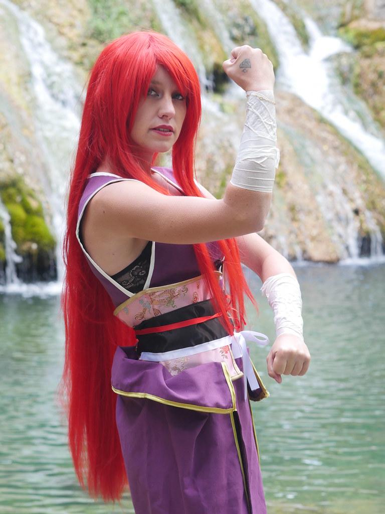 related image - Shooting Erza Scarlet - Robe de Yuen - Fairy Tail - Montferrat - 2015-05-15- P1080626