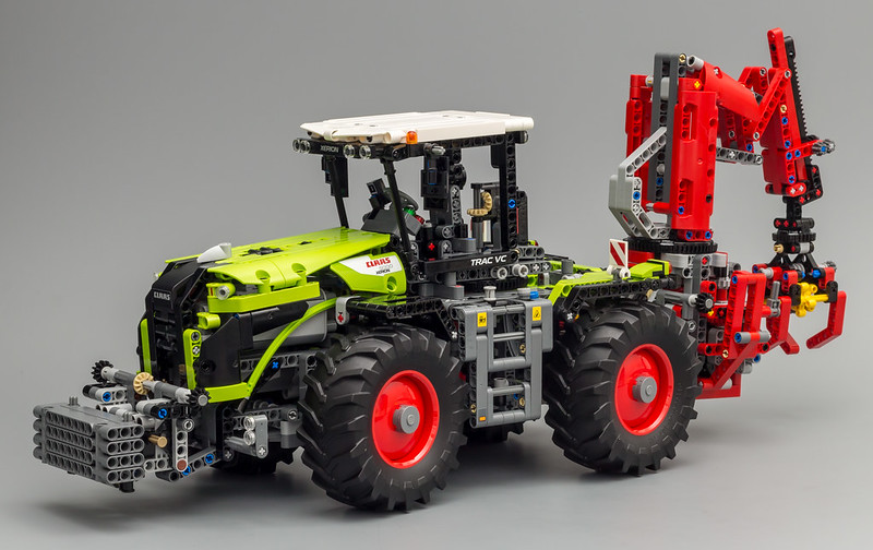 42054 claas xerion 5000 trac vc lego technic. Black Bedroom Furniture Sets. Home Design Ideas
