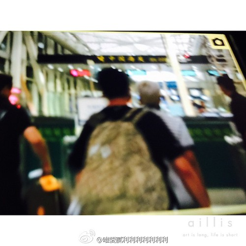 Big Bang - Guangzhou Airport - 01jun2015 - vickibblee - 02