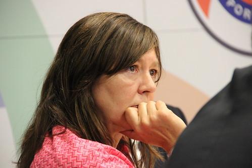 Teresa Leal Coelho em visita à ANPC