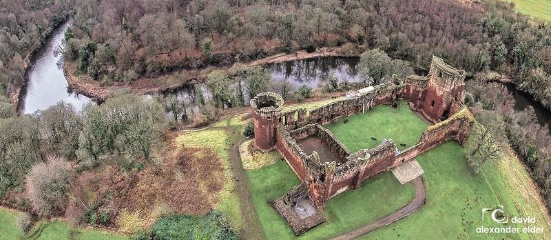 ruinas del Castillo de Bothwell