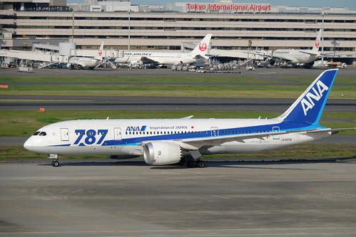 Haneda Tokyo International Airport 09 ANA BOEING 787