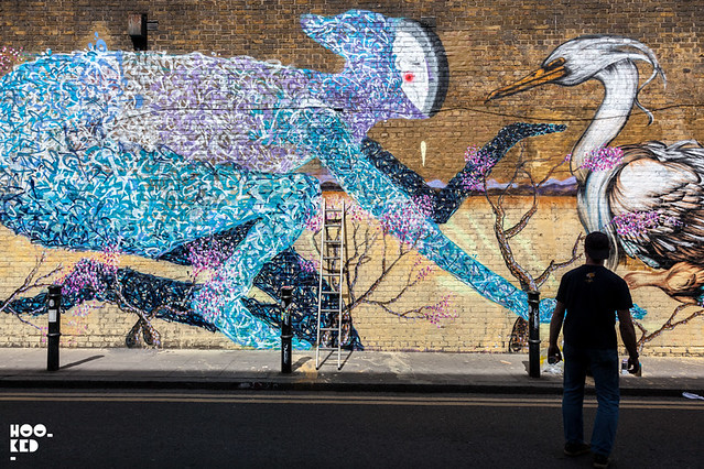 Bailon - Brick Lane Mural