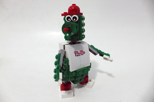 Philly Brick Fest 2015 LEGO Phillie Phanatic