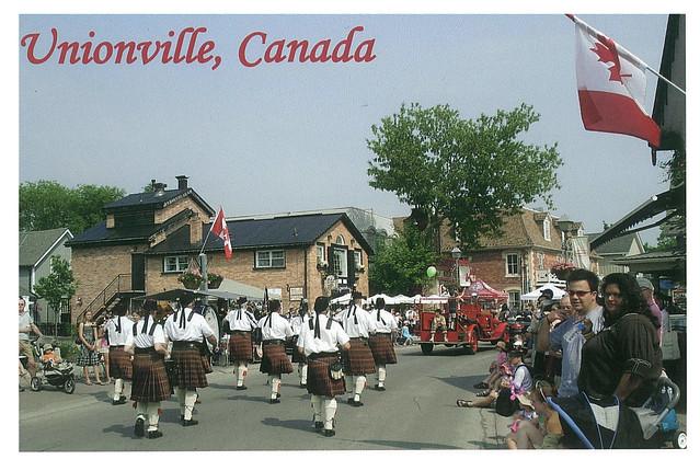 Ontario  - Unionville - parade