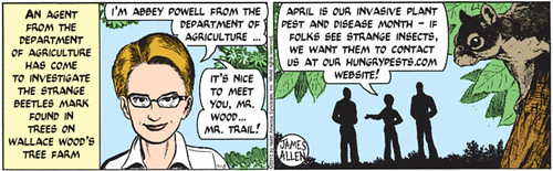 EAB Comic strip