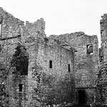 Aberdour Castle - B&W Film Shot