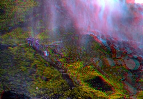 Niagara Falls' mist 3-D ::: HDR/Raw Anaglyph Stereoscopy