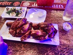 Some of the juiciest wings ever, drunken night at…