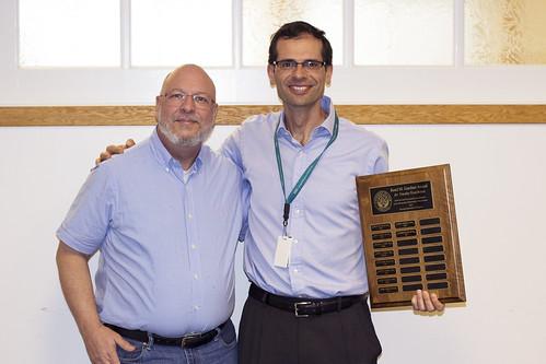 Guilherme Del Fiol receives Gardner Award