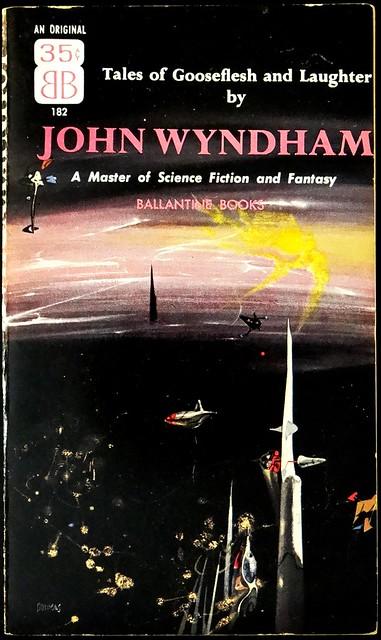 Ballantine 182 Paperback Original (1956). Cover Art by Richard Powers