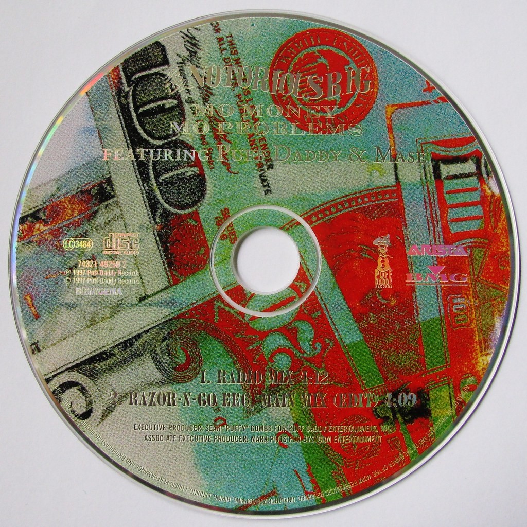 cd single | The NOTORIOUS B I G  MO MONEY MO PROBLEMS featur… | Flickr