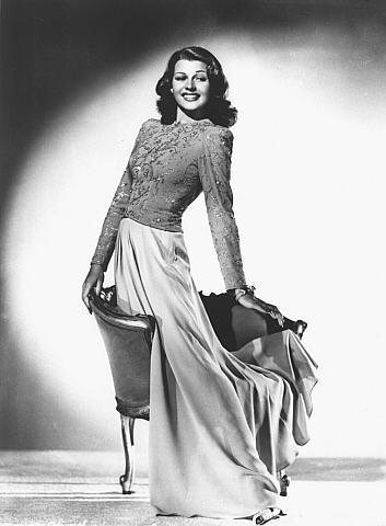 Vintage WWII Pinup Photo Rita Hayworth