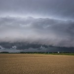 Shelf cloud su Staranzano 3 (Go)