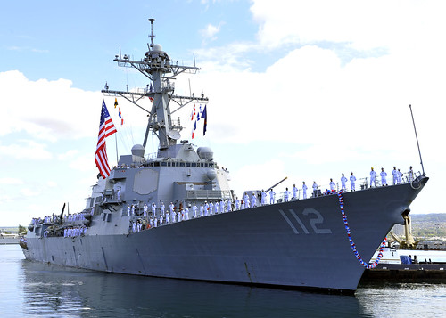 USS MICHAEL MURPHY Homecoming May 21, 2015