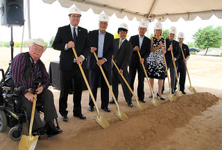 Iris USA Groundbreaking 2015
