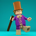 LEGO Minifigure - Willy Wonka