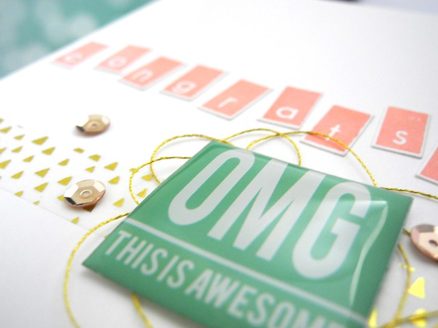 OMG! This is Awesome! by Jennifer Ingle #JustJingle #PinkfreshStudio #cards