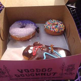 You know you're a fatty when your honeymoon trip revolves around vegan donuts. ;)