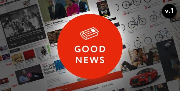 Good News v1.1.7.2 - Multi-Niche Blog / Magazine Theme
