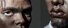 Black man close-ups