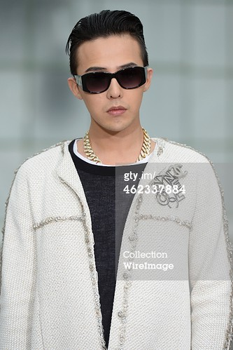 G-Dragon Chanel Show Paris - Press Photos - Getty Wire - 20150127 - 3