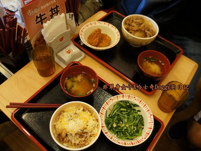 Sukiya日本牛丼咖哩飯12