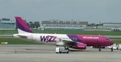 HA-LPN Airbus A320 Wizz Air