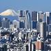 富士山と新宿高層ビル群 | Mount Fuji and Shinjuku skyscrapers in Tokyo [EXPLORED] by Iyhon Chiu