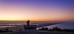muzzpix-nz posted a photo:Facebook    | 500px  | WebsiteAn evening photog session at the top of Mount Maunganui looking towards the setting sun over the Kaimai Ranges and Matakana Island .