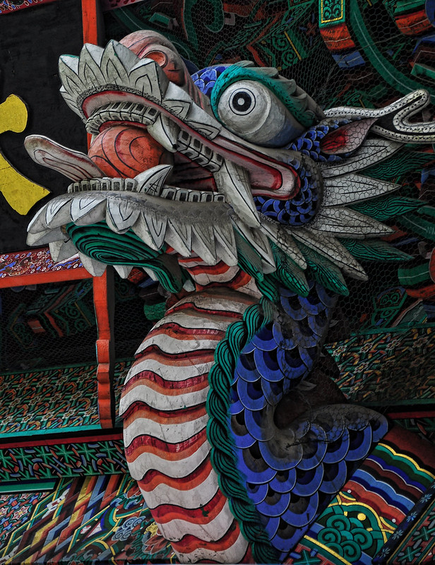 Dragon Bongwansa Temple, Seoul