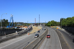 SR 520 eastbound from 24th Avenue