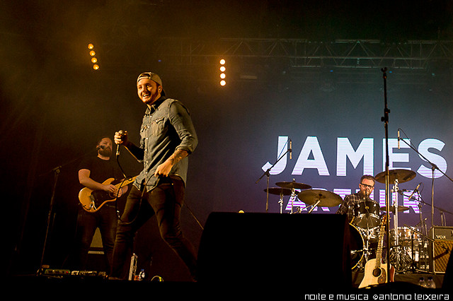 James Arthur - Noites da Queima Porto '15