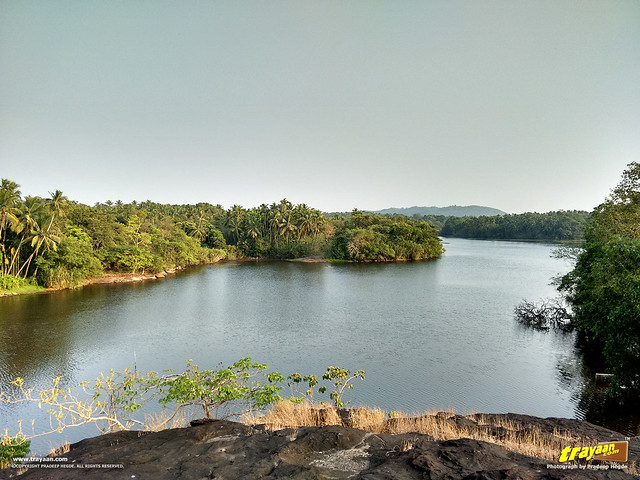 Ramasamudra Lake, in Karkala, Udupi district, Karnataka, India