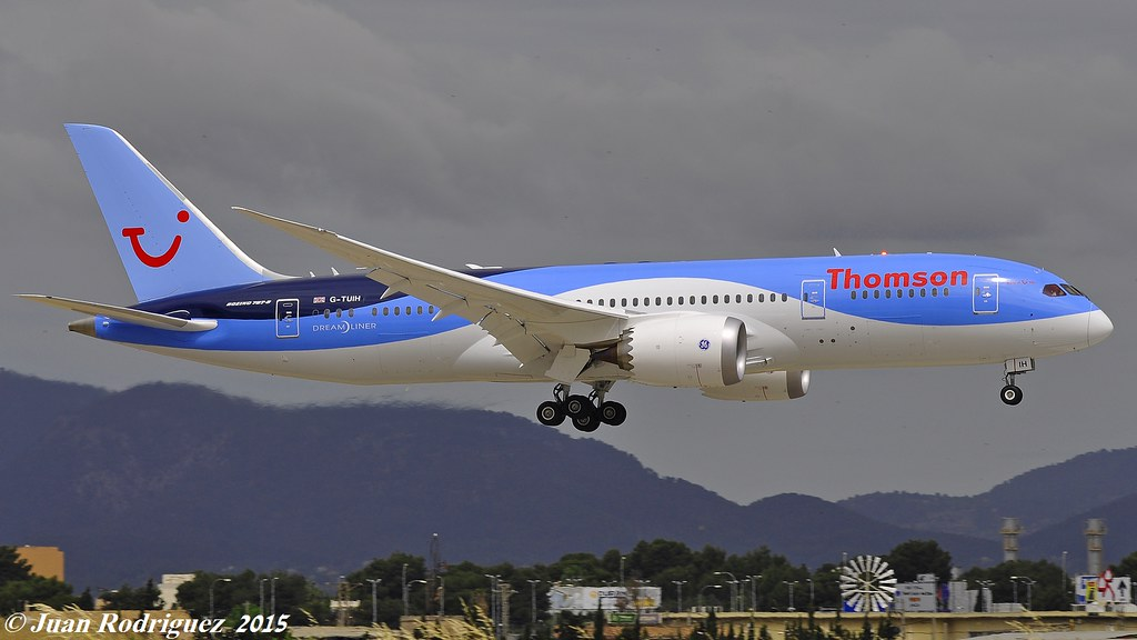 G-TUIH - B788 - TUI Airways