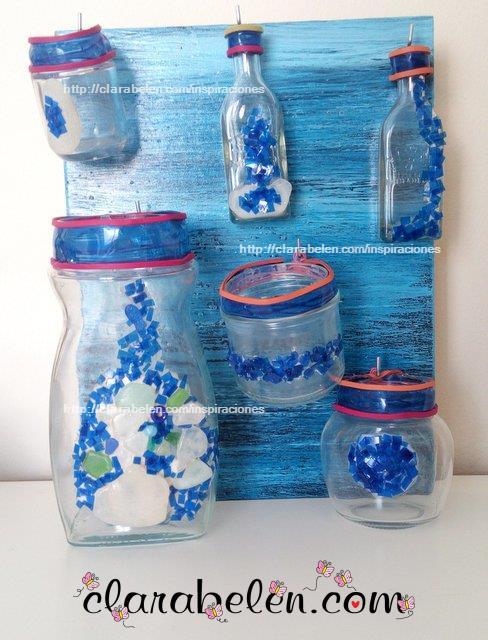 Inspiraciones manualidades y reciclaje c mo decorar for Decoraciones de botes de plastico