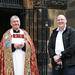 The hanging of the High Sheriff of Lancashire's shield by DragonSpeed