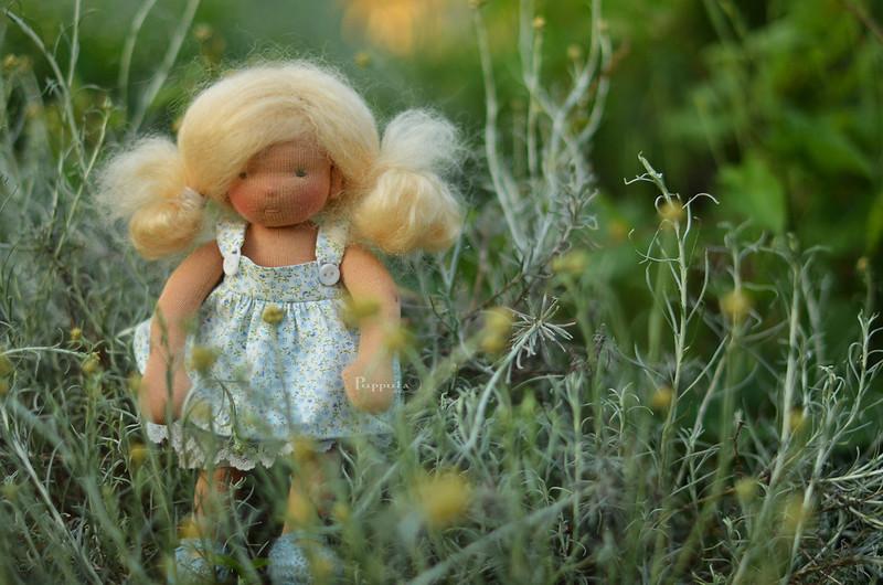 Cvita, 9 inch Puppula doll
