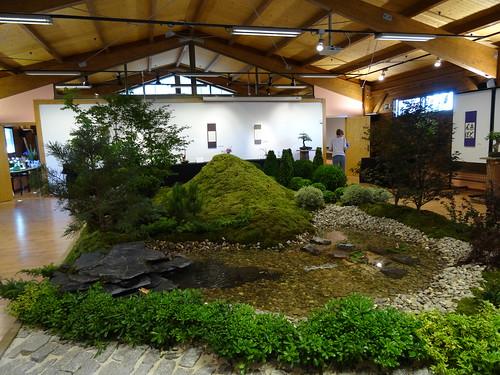 Reproducción de un jardín japonés
