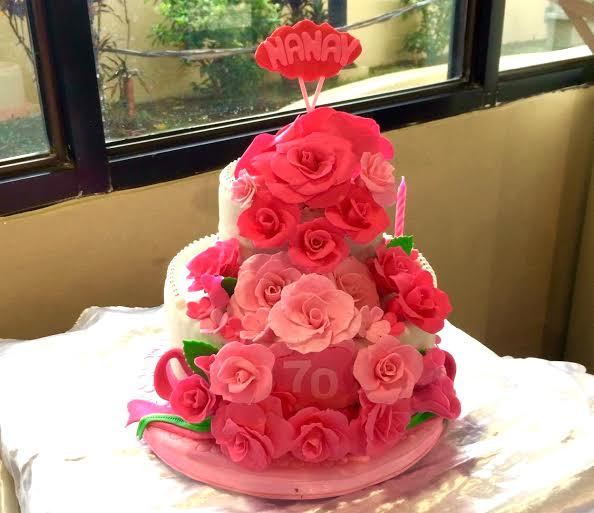 Cake by Marivic Flores