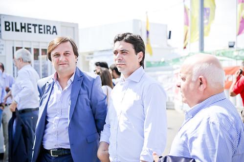 Pedro Passos Coelho em visita à Expofacic