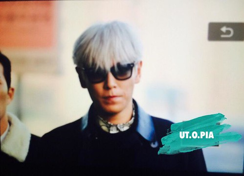 Big Bang - Gimpo Airport - 15jan2015 - TOP - Utopia - 01